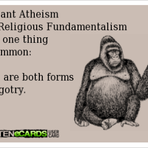 Why I hesitate to comment on atheist blogs, even when I agree withthem.